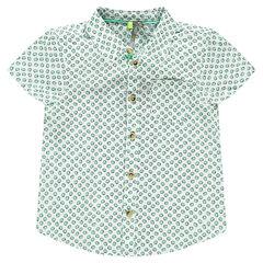 Camisa de manga corta con estampado de kiwis