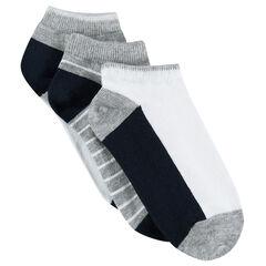 Juego de 2 pares de calcetines cortos variados