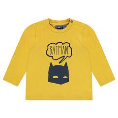 Camiseta de manga larga de punto con estampado de Batman