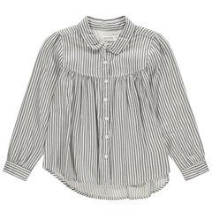 Camisa de mangas largas y rayas