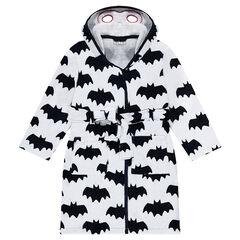 Albornoz con estampado ©Warner Batman all over y capucha con máscara integrada