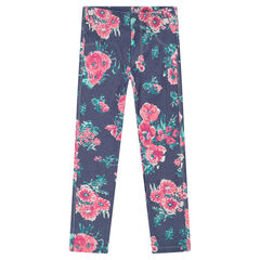Jegging con estampado fantasía all-over