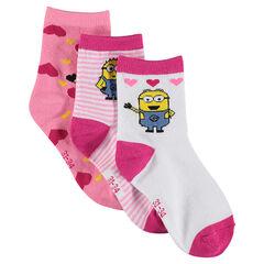 Lote de 3 pares de calcetines Minion