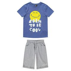 Júnior - Pijama de punto con ©Smiley