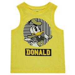 Camiseta teñida Disney con estampado del Pato Donald