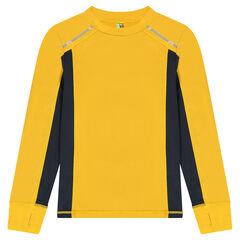 Júnior- Camiseta técnica de manga larga tipo raglán