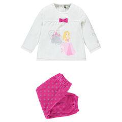 Pijama de terciopelo de madera Disney para adaptar a la edad