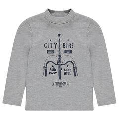 Júnior - Camiseta interior con estampado de fantasía