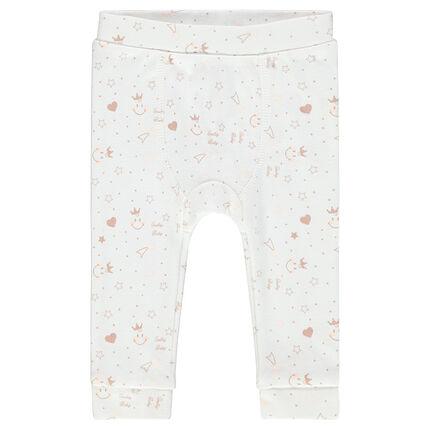 Pantalón corto estampado ©Smiley Baby all-over