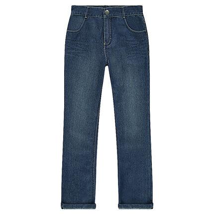 Jeans efecto usado