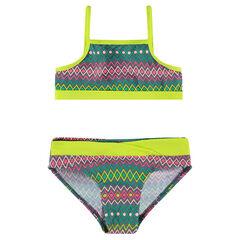Bikini con estampado gráfico