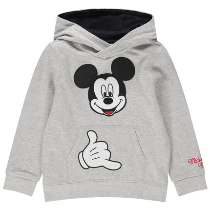 Sudadera de felpa Mickey Disney bordada