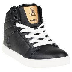 Zapatillas de deporte de caña alta con cordones con cremallera