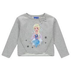 Sudadera de felpa con estampado con lazos La Reina de las nieves Disney