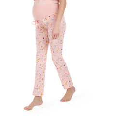 Pantalón de pijama homewear con estampado all over