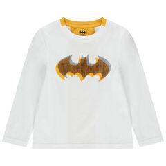 T-shirt manches longues en coton print Batman