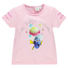 Camiseta manga corta estampado fantasía Disney