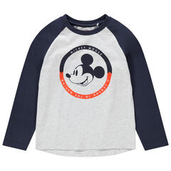 Camiseta de manga larga con estampado de Mickey Disney