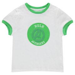 Camiseta de manga corta de punto con dibujo de lentejuelas mágicas Hulk de Los Vengadores ©Marvel