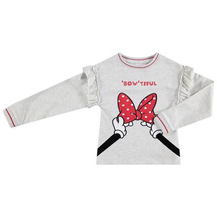 Sudadera de felpa con detalles de Minnie Disney bordados