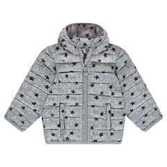 5ed3afe85 Anorak light*, impermeable y acolchado con capucha y bolsa de  almacenamiento estampada