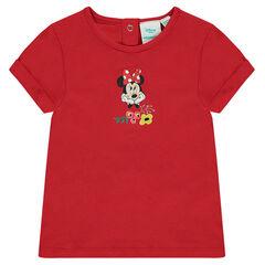 Camiseta de manga corta con estampado de Disney Minnie