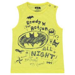 Camiseta sin mangas de slub con estampados ©Warner Batman