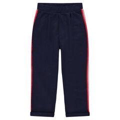 Júnior - Pantalón de chándal con bandas aplicadas en los laterales