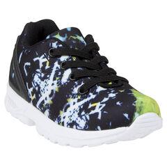 Zapatillas de deporte de caña baja con estampado de gráfico
