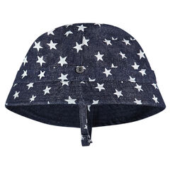 Gorro vaquero con estrellas all-over