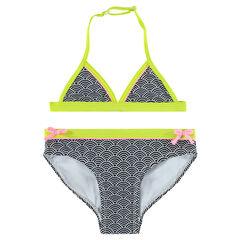Bikini con estampado de fantasía