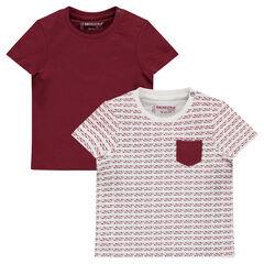 Lote de 2 camisetas surtidas de manga corta