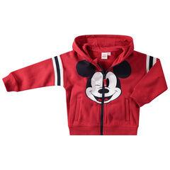 Chaqueta con capucha de felpa con Mickey Disney estampado
