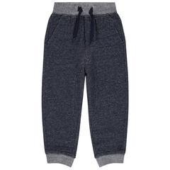 Pantalón de chándal jaspeado