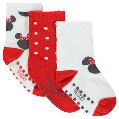 Juego de 3 pares de calcetines con dibujo ©Disney Minnie