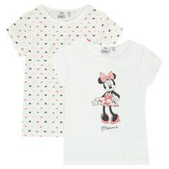 Conjunto de 2 camisetas interiores Disney Minnie