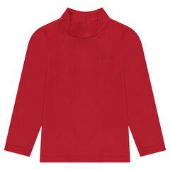 Camiseta interior de punto de cuello alto