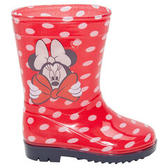 Botas de agua de goma con lunares all-over Disney Minnie, del 20 al 23