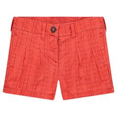 Shorts de algodón de fantasía con juego de tablas