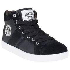 Zapatillas de deporte de caña alta de aspecto cuero US Marshall