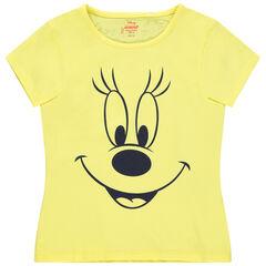 Camiseta manga corta algodón orgánico Minnie Disney , Orchestra