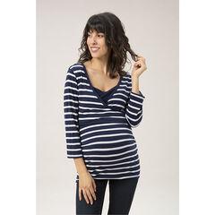 camiseta mangas 3/4 de de embarazo y de lactancia estampado