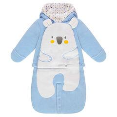 Saco de dormir de terciopelo con dibujo de koala
