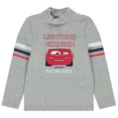 Suéter de cuello camisero estampado Cars Disney