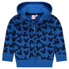 Chaqueta con capucha de muletón Disney con estampado de Mickey