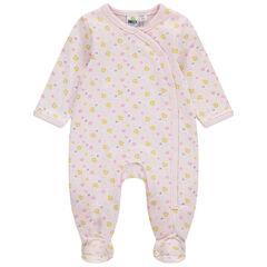 Pijama de algodón ecológico con estampado de Smiley all over