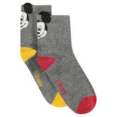 Juego de 2 pares de calcetines con ©Disney Mickey y orejas de relieve