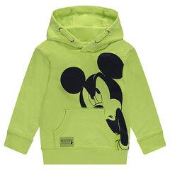Sudadera de felpa con Mickey