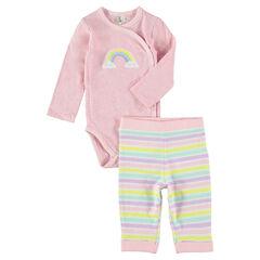 Conjunto de nacimiento body pantalón