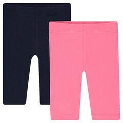 Pack de 2 pantalones de ciclistas lisos